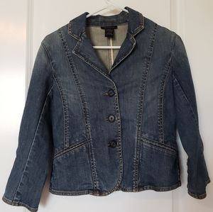 The Limited Stretch Jean Jacket